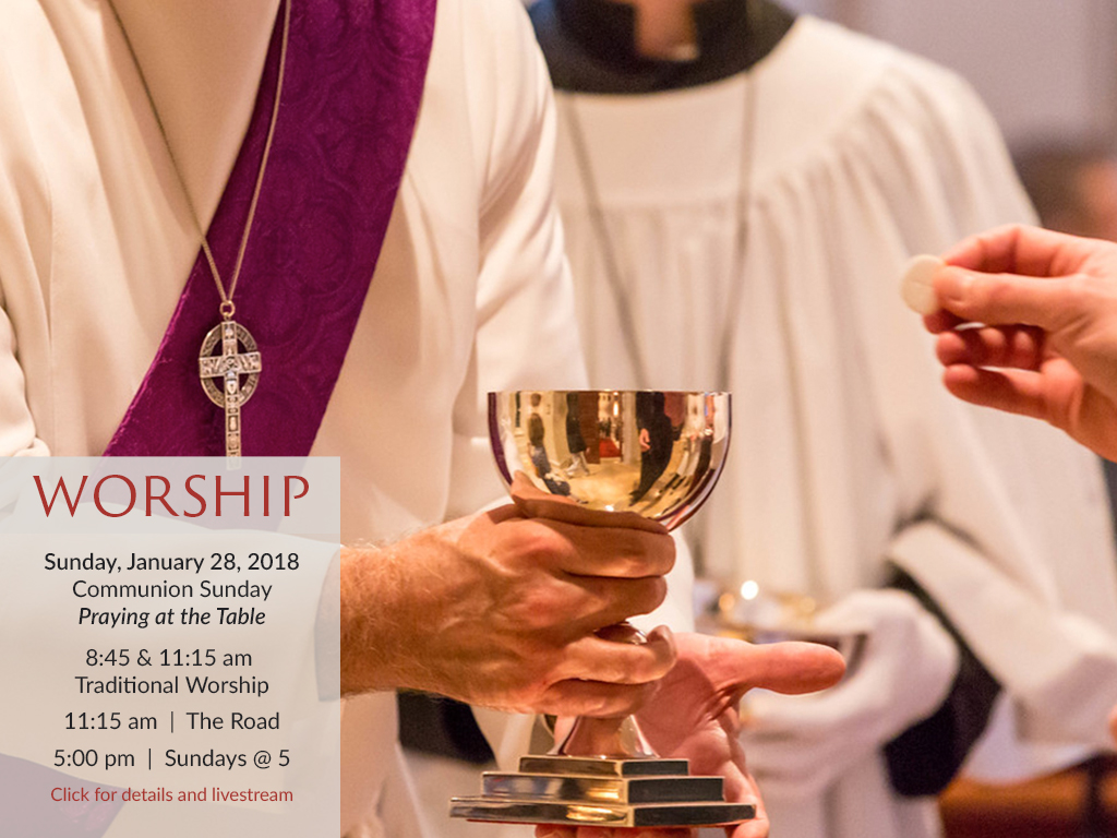 Worship with us each Sunday. All are welcome.