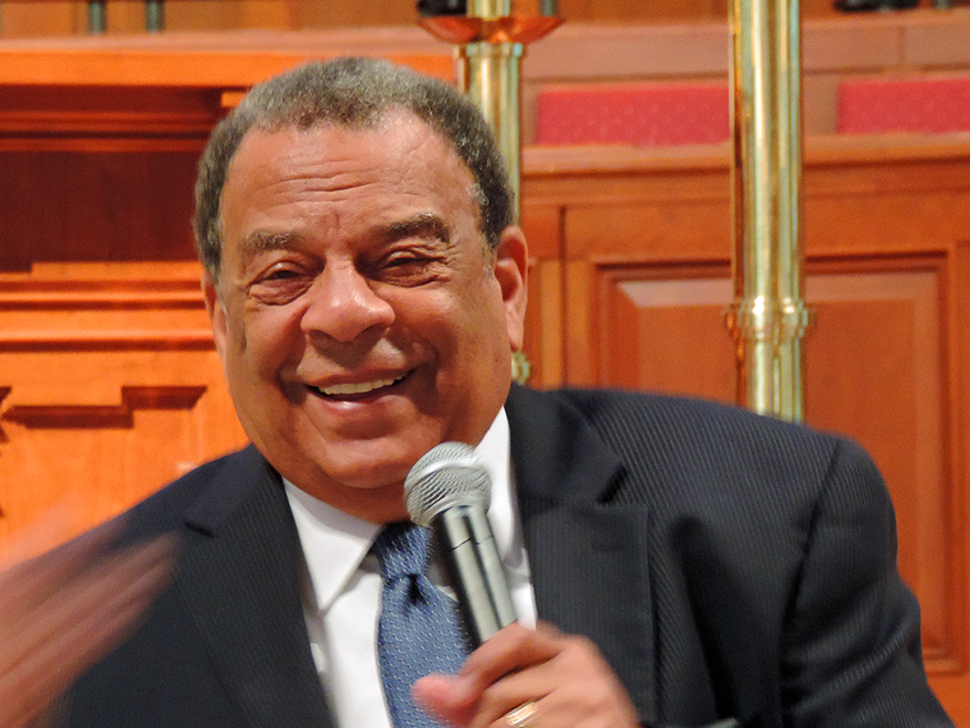 Andrew Young Justice Video