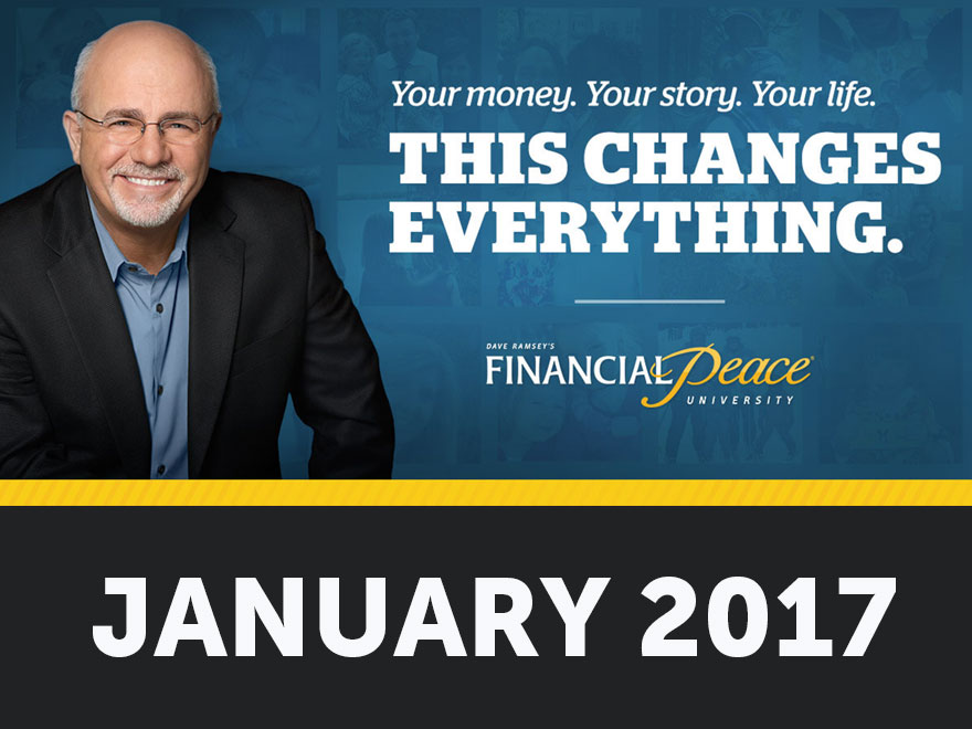 PRUMC Presents Dave Ramsey's Financial Peace University