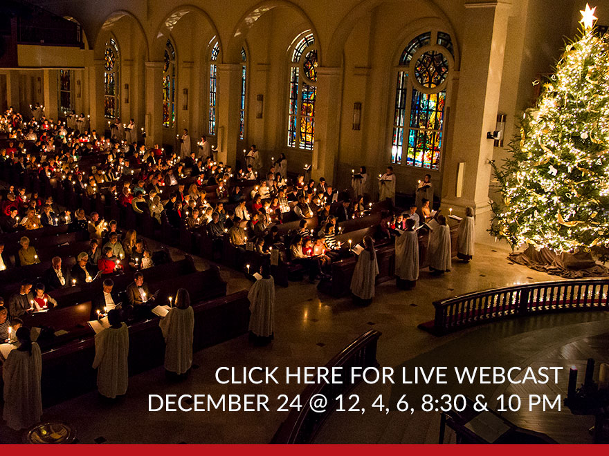 Christmas Eve Webcast