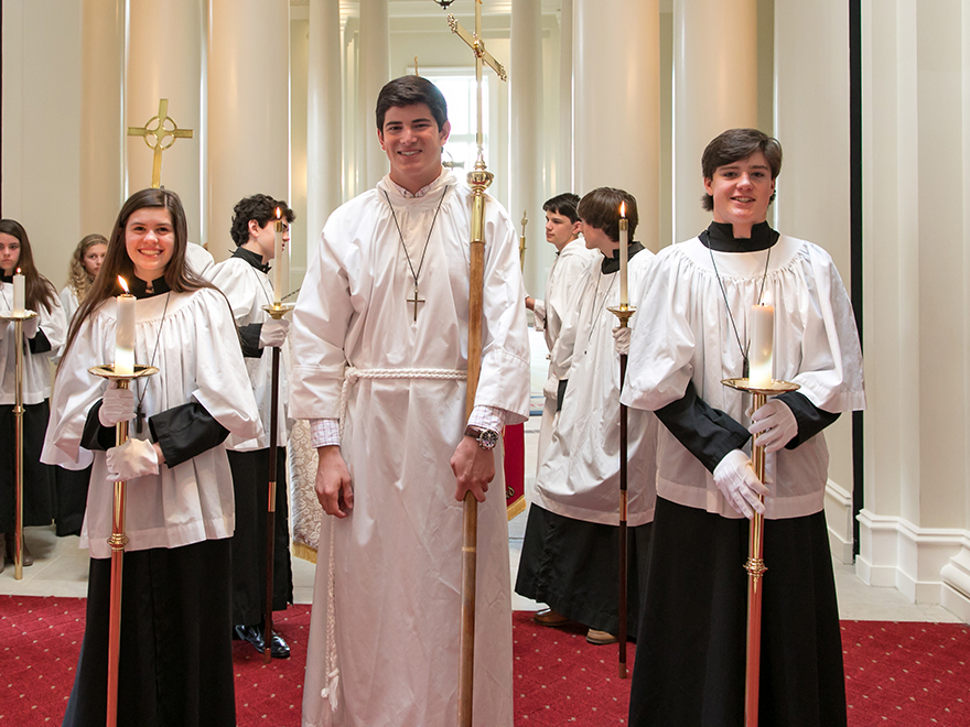 Acolytes in Hall