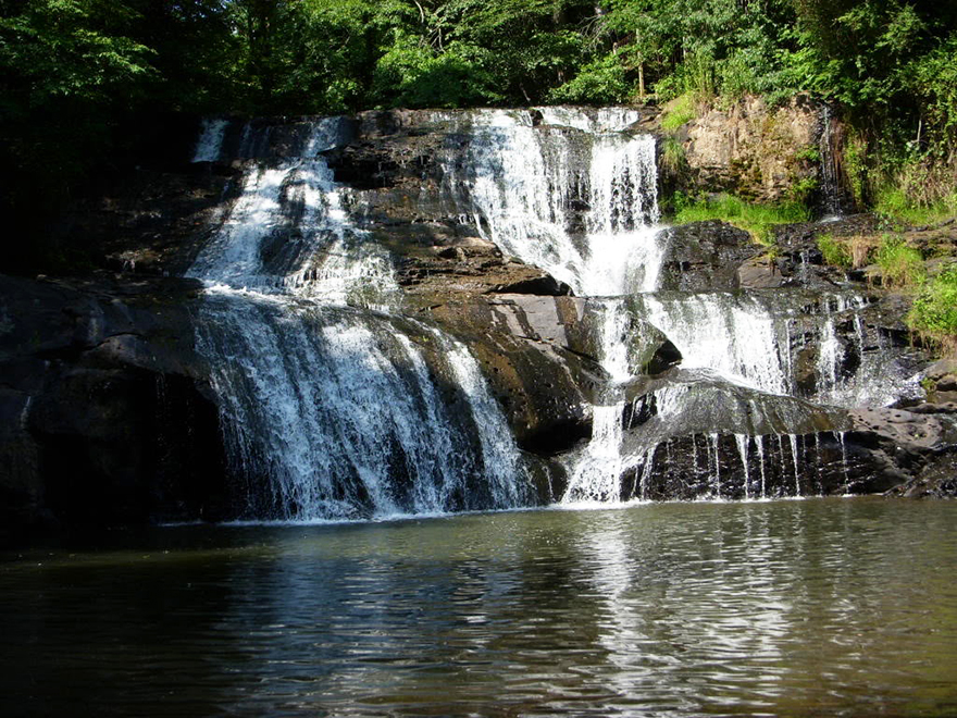 Camp Glisson Waterfall