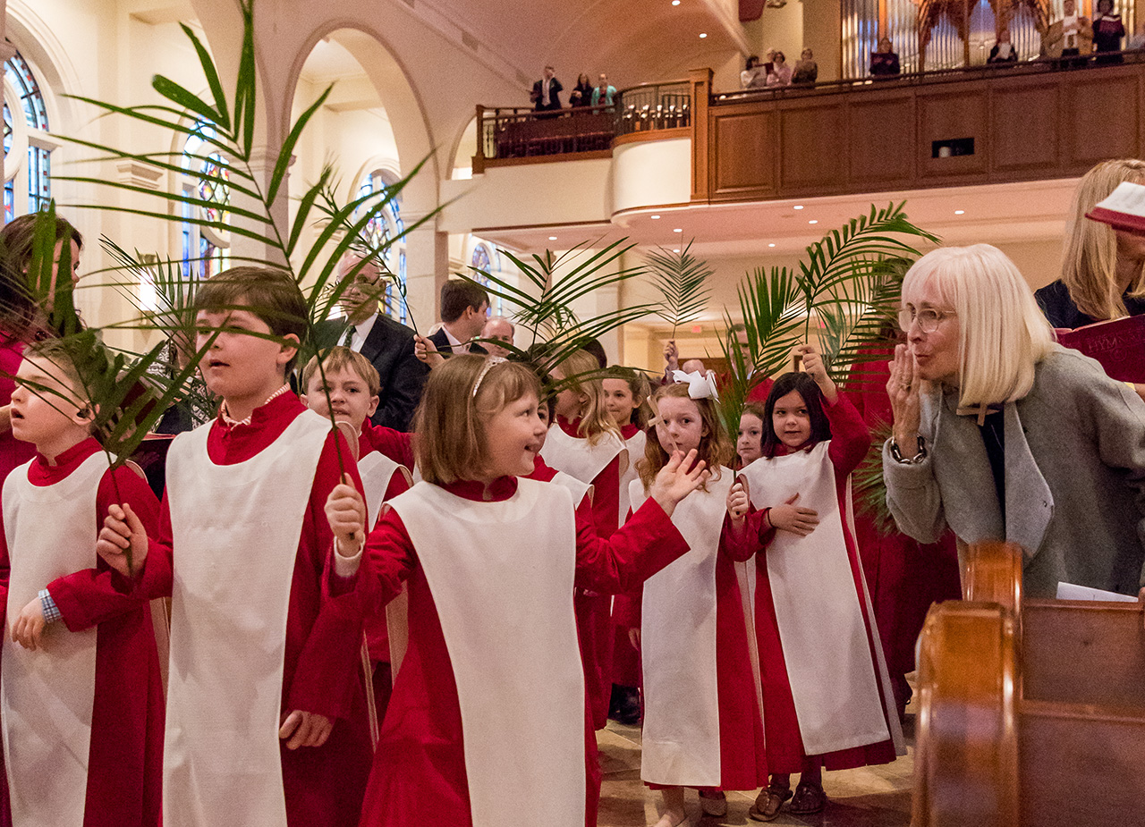 Childrens Choir Palm Sunday