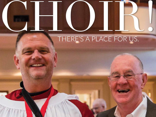 PRUMC Choir - There's a place for us.