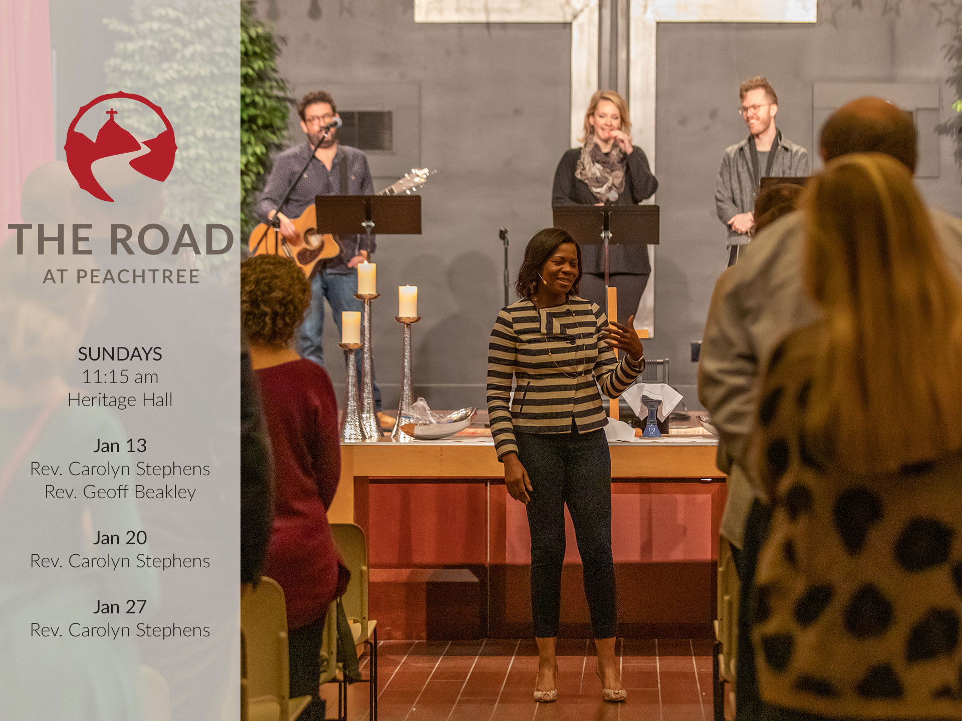 The Road Worship Service