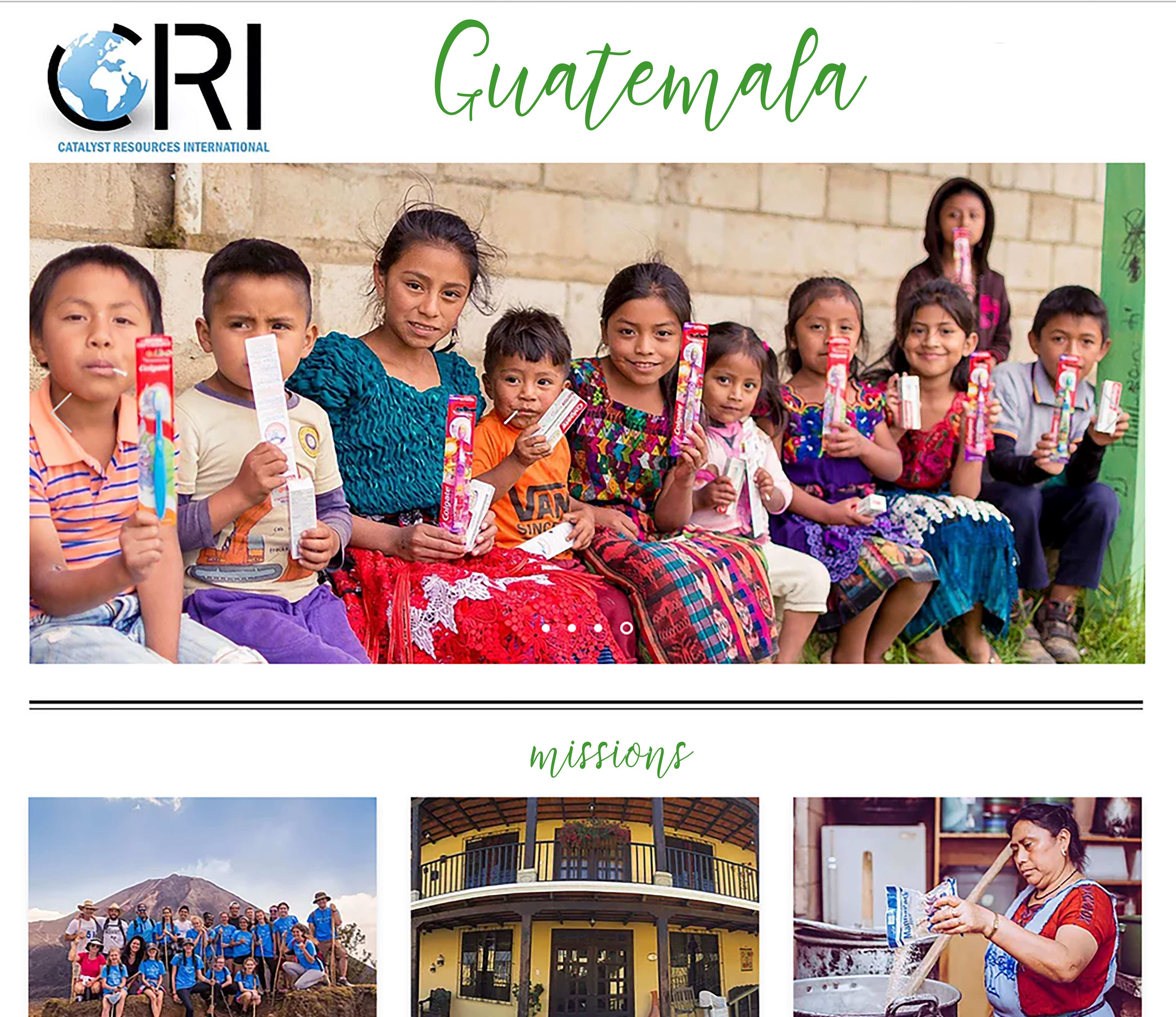 Catalyst Missions in Guatemala