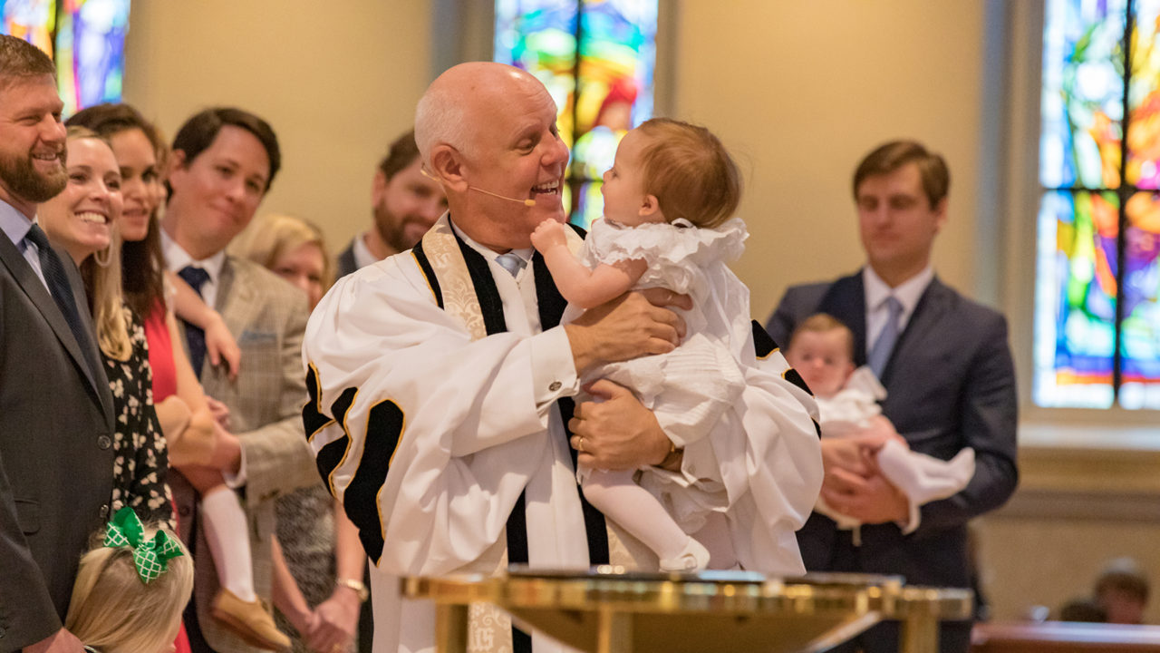 Infant Baptism at Peachtree Road.