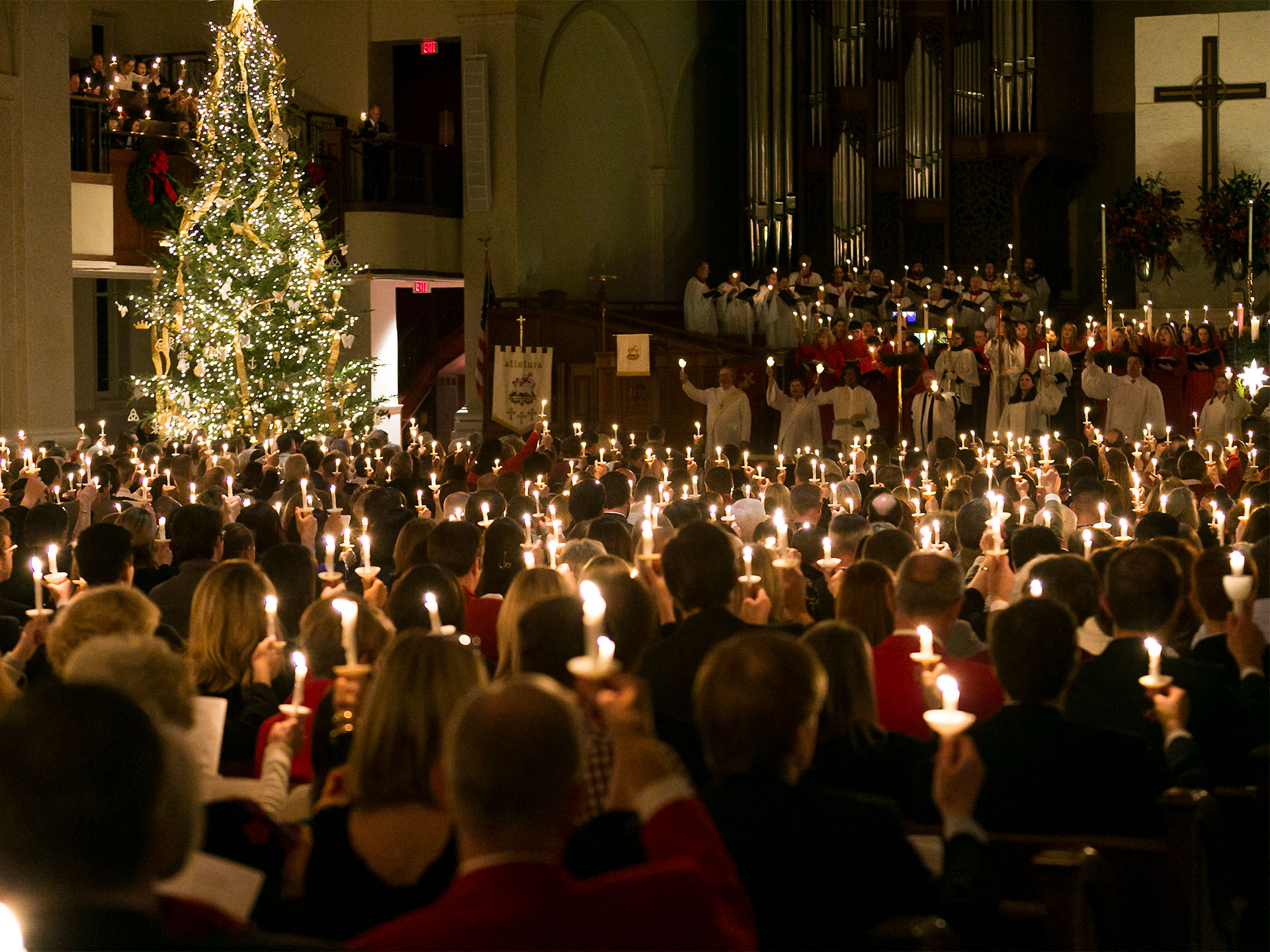 Christmas Eve at Peachtree Road