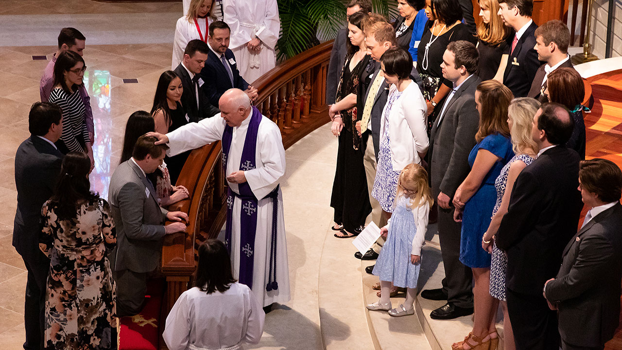 Adult Baptism during a Joining day in Worship.