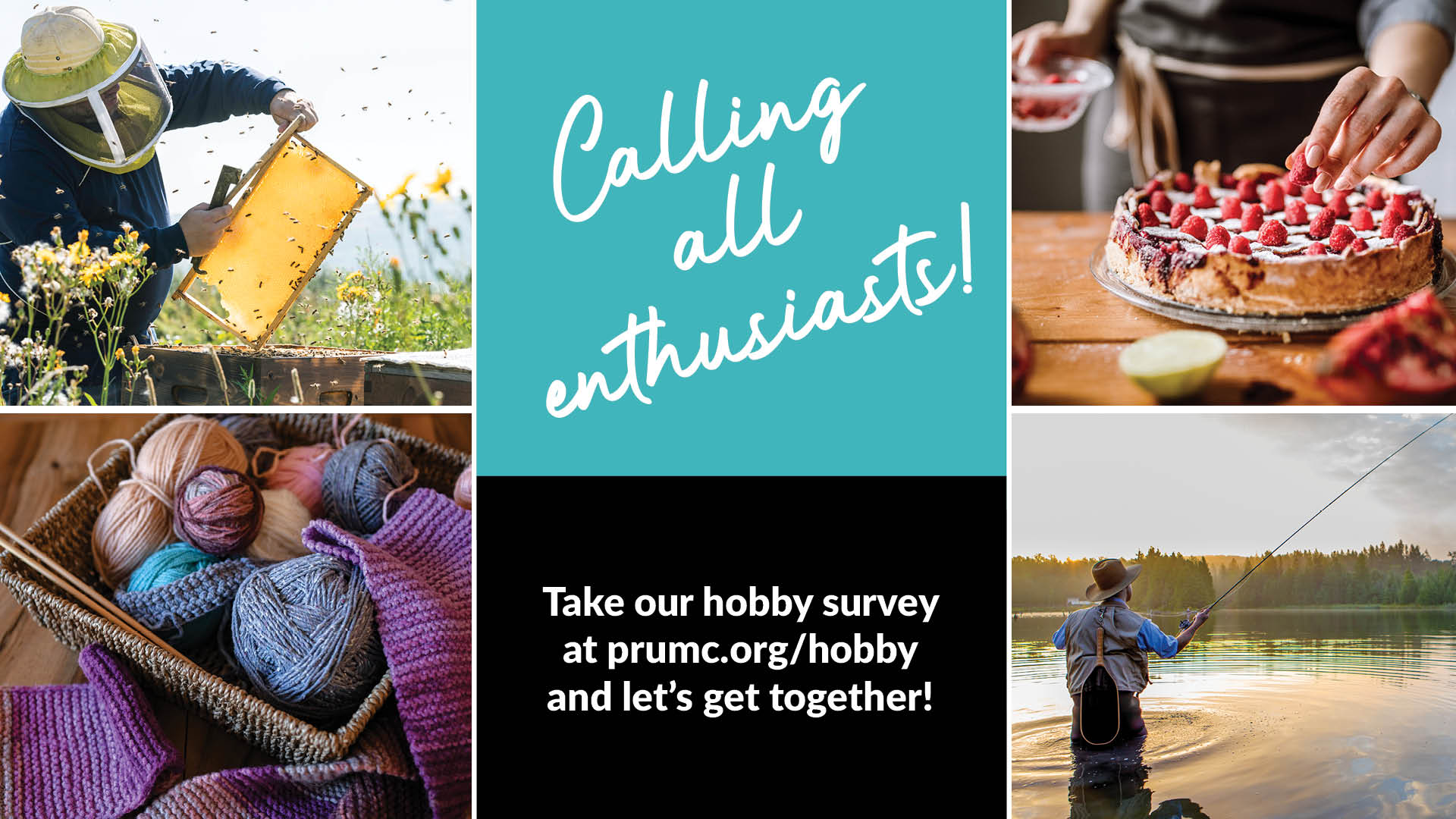 What is your hobby - take our survey