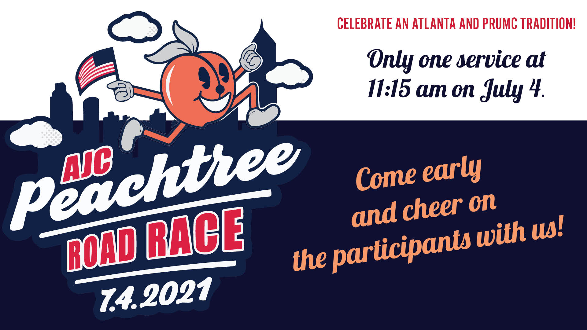 Party on Peachtree Road Race July 4
